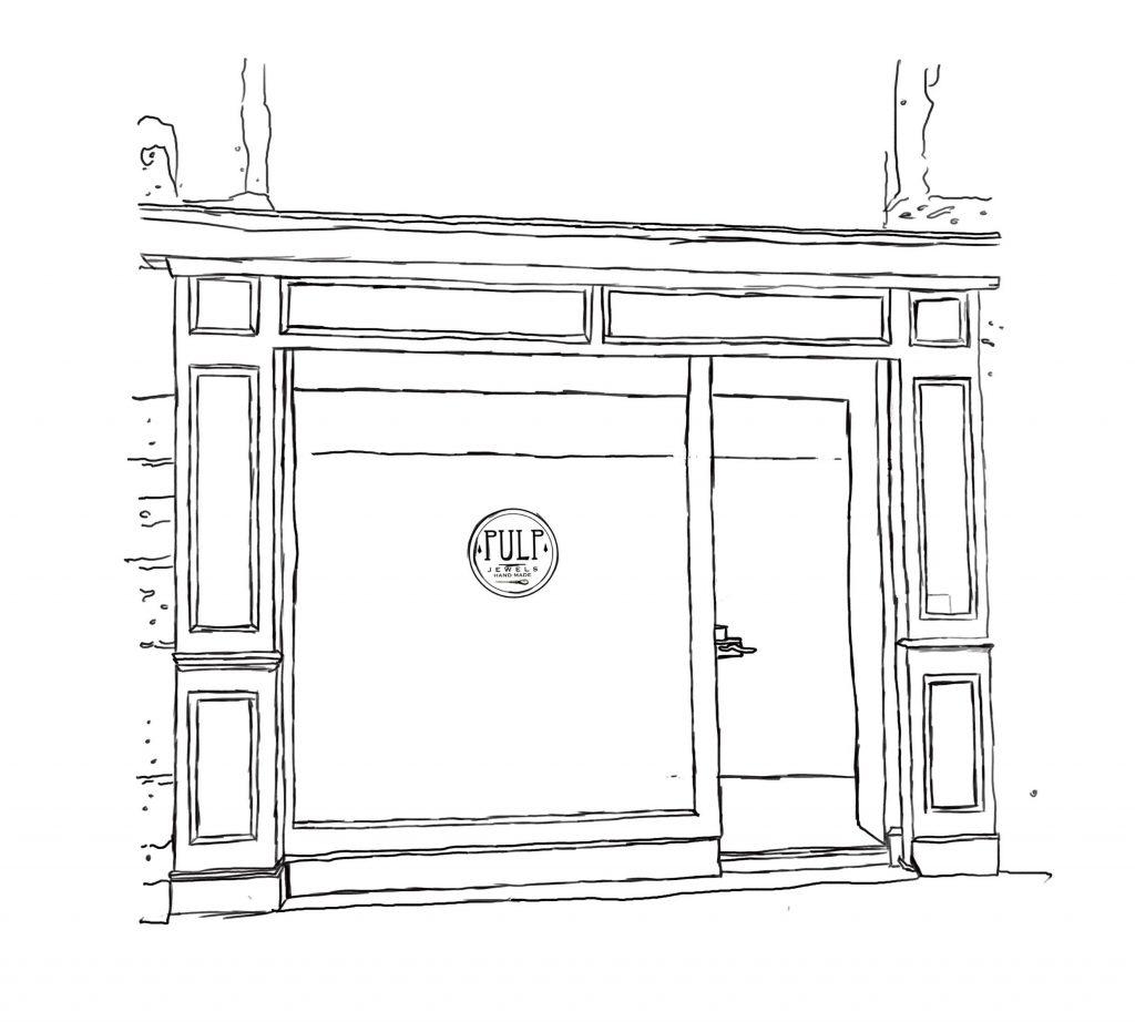 dessin boutique atelier
