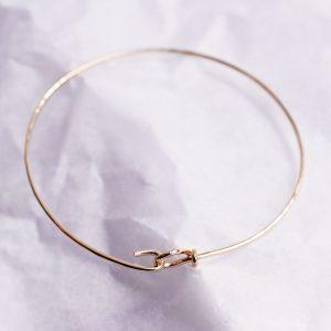 bracelet jonc en or bijoux lyon