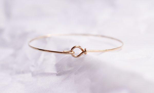 bracelet or 18 carats jonc bijoux lyon