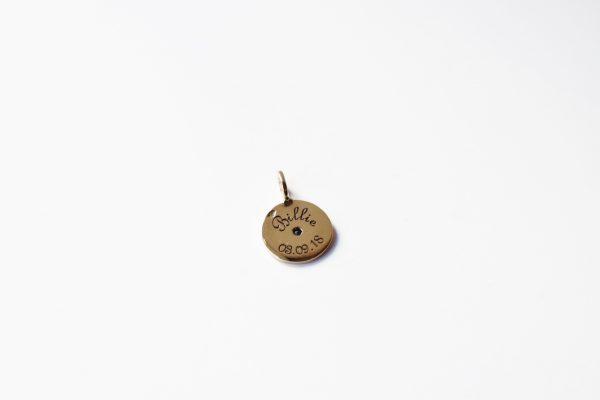 médaille gravée or