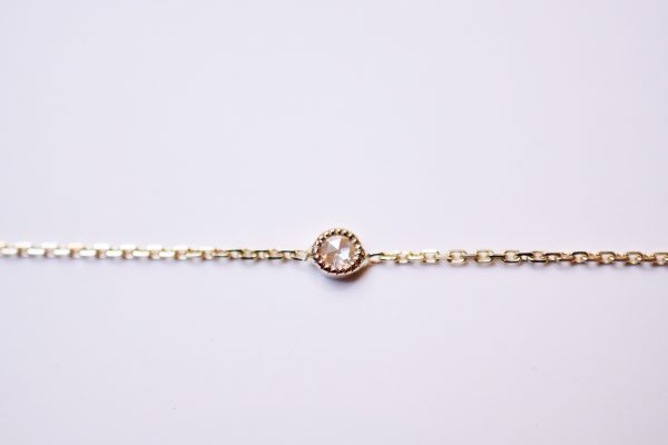 bracelet diamant taille rose