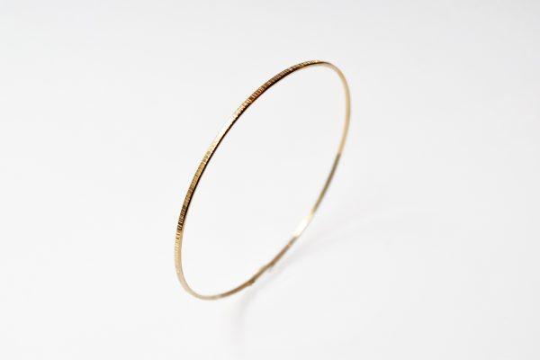 bracelet jonc fin or lyon bijoux