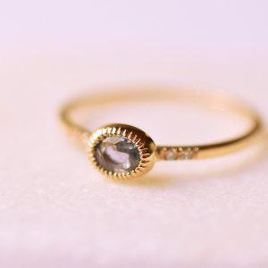 bague diamant saphir fine bijoux