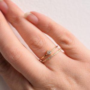 alliance bague de fiançailles fine lyon diamants