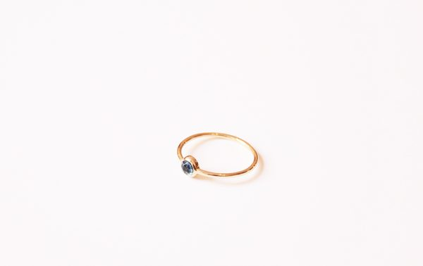 bague topaze blue london fine bijoux creature