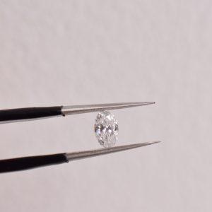 diamant oval bague fiançailles sur mesure lyon