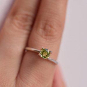 péridot pierre verte bijoux sur mesure