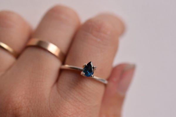 tourmaline bleue bijoux sur mesure