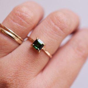 bague tourmaline bijoux unique lyon