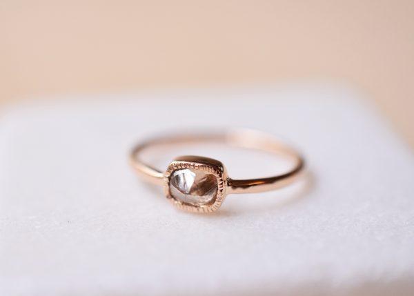 bague diamant brut bijoux créateur lyon