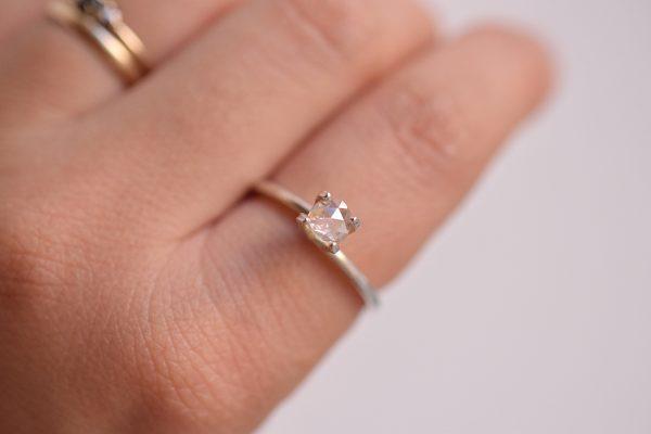 diamant rosecut bijoux lyon