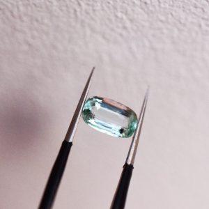 émeraude verte pale bijoux sur mesure lyon