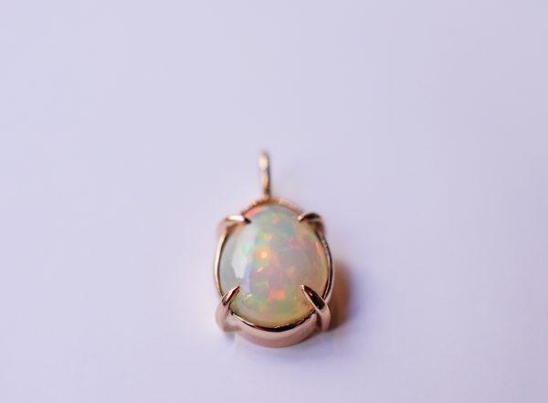 pendentif opale bijoux lyon