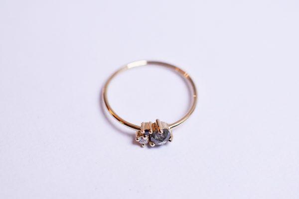 bague 3 diamants fiançailles bijoux lyon