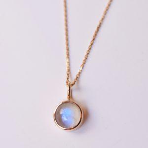 pendentif pierre de lune bijoux créateur lyon