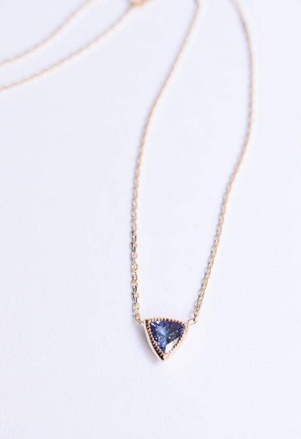 collier tanzanite or