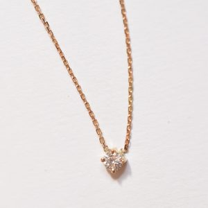 collier diamant or