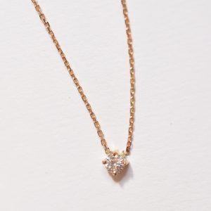 collier diamant or