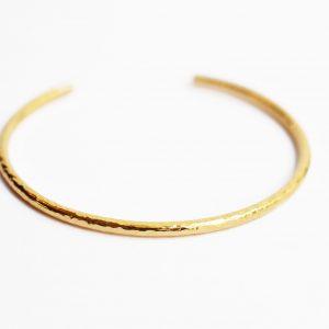 bracelet jonc martele bijoux lyon