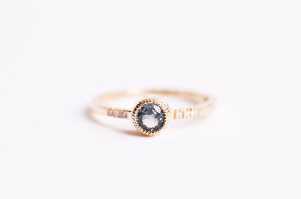 bague de fiançailles saphir bijoux lyon