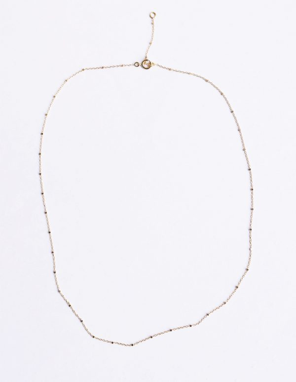 Collier chaine or