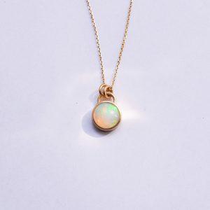 collier or opale lyon